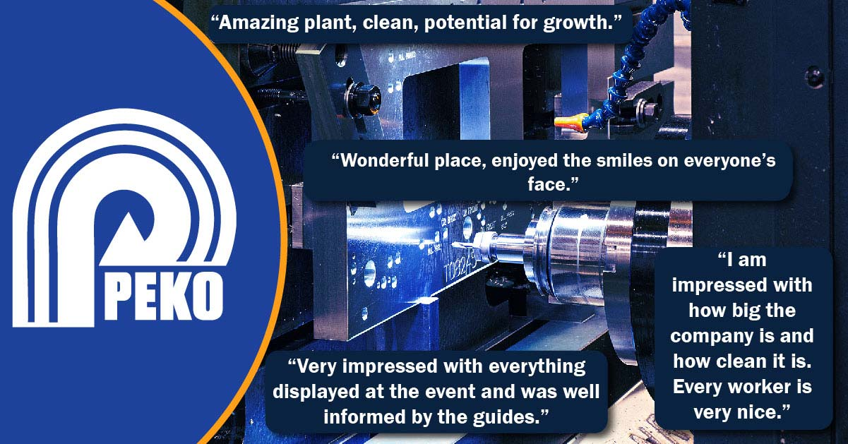 CNC Machinist Thank You & Testimonials