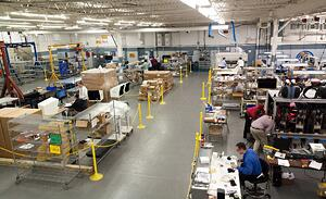 Contract Manufacturing Floor