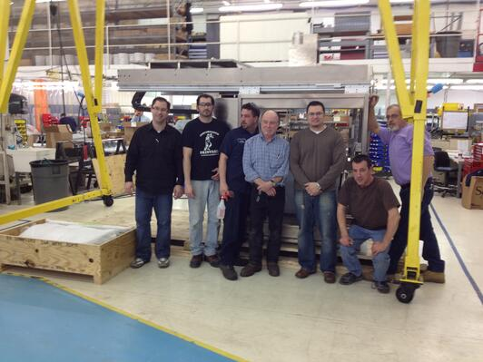 contract manufacturing large equipment