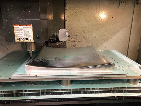 Industry - CNC Machining - Large Parts 32""