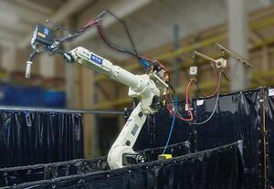 Facility Automated Robotic Welding